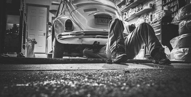 Werkstattbindung - Auto reparieren
