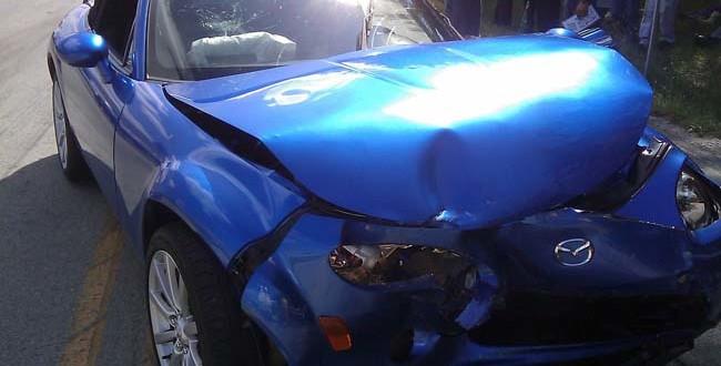 Rabattretter - Auto Unfall