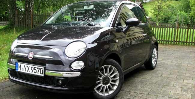 Fiat 500 Versicherung